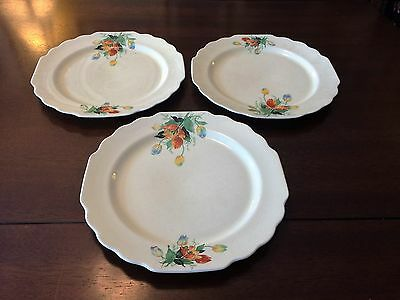 Lido Canarytone Dinner Plates by W.S. George