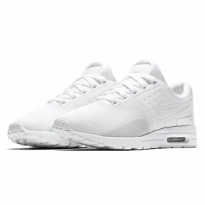 NEW Nike Air Max Zero Womens Running Shoes White Pure Platinum