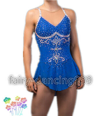 2017 New Style Ice Figure skating dress Ice skating dress for competition p119