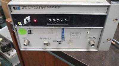 Lot 2 HP Agilent 43114A Industrial Rackmount Assembly Digital Delay Generator