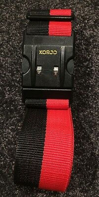 Korjo Deluxe Luggage Strap With Combination Lock