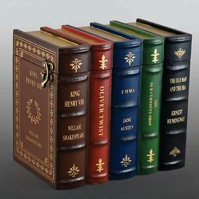 Book Set Wooden Cremation Urn