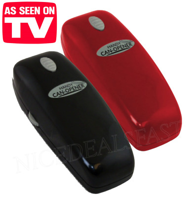 Handy Can Opener AS SEEN ON TV Hands Free Automatic Easy Open Red or Black New!