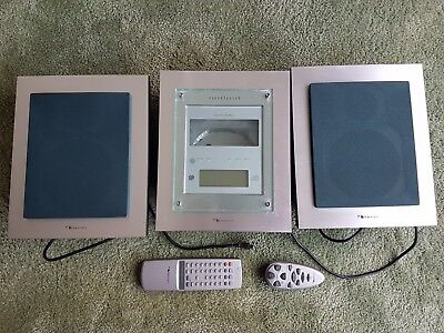 Nakamichi SoundSpace 5 - 3 Disc CD Player Radio Stereo System with Both Remotes
