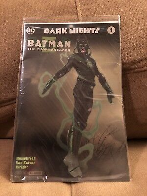 NYCC Exclusive DC Comic Foil Dark Nights Variant - The Dawnbreaker
