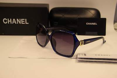 AUTHENTIC LIMITED TIME ONLY PRICE DROPPED Blue/Gold Chanel5Polarized Women`s Sun