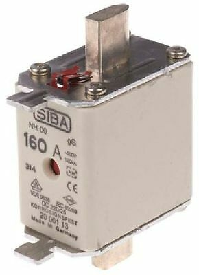 Siba Blade Fuses NH00 gL/gG Combination Indicator Various Ratings