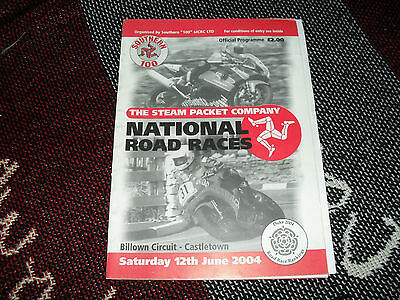 2004 Billown Programme 12/6/04 - National Road Races