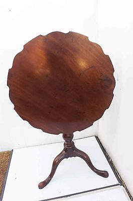 Tilt top Table Georgian circa 1750's