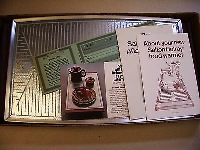 SALTON Hotray Electric Food Warmer Automatic Warming Tray H-122 Special NEW
