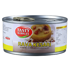 Rava Kesari Halwa - Tasty nibbles, 6.52 oz, South Indian Dessert, Diwali Special