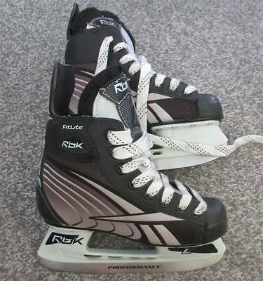 Reebok  Ice Hockey Skates, Size 34 Only Worn One Week, Excellent Cond.