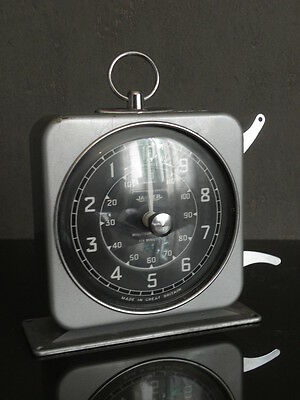 clock alarm TIMER JAEGER smiths industries limited watch Minute Minder Retro vtg