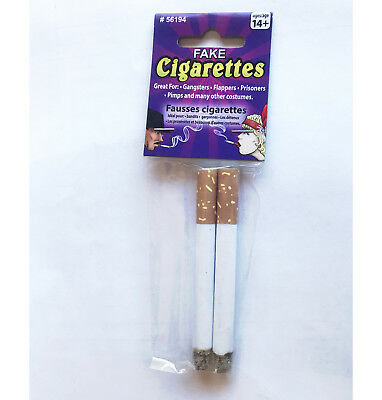 Fake Cigarettes Smoke Prop Toy Costume Accessory For Dress Up Costume Party