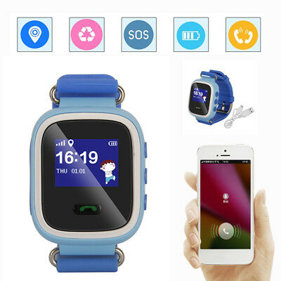 smartwatch kinderuhr kinder handy uhr gps tracker sos. Black Bedroom Furniture Sets. Home Design Ideas