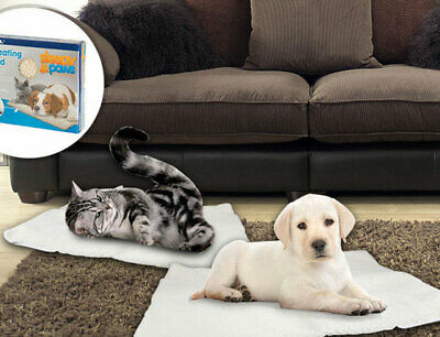 Self Heating Dog Cat Pet Bed Thermal Washable No Electric Blanket Required  New