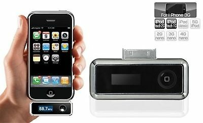 Mbeat Car FM Transmitter - With Charger - Suitable For iPhone/iPod