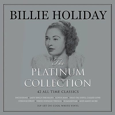 42 Classics Billie Holiday Platinum Collection Greatest Hits Best Of New 3Lp