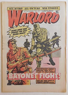WARLORD Comic #156 - 17th September 1977