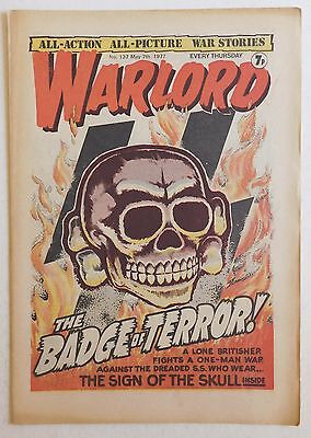 WARLORD Comic #137 - 7th May 1977