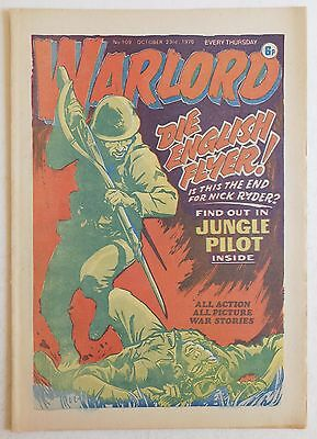 WARLORD Comic #109 - 23rd October 1976