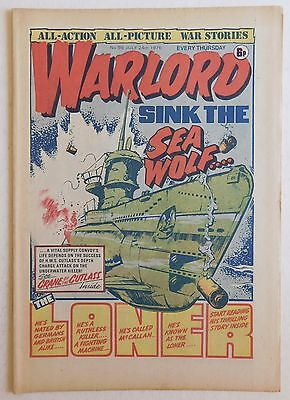 WARLORD Comic #96 - 24th July 1976