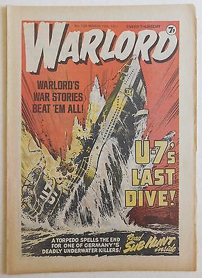 WARLORD Comic #129 - 12th March 1977