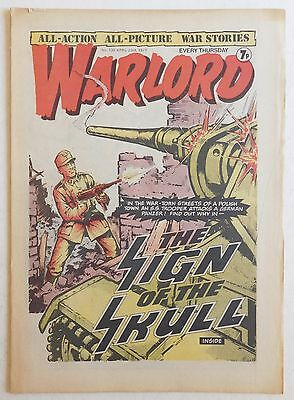 WARLORD Comic #135 - 23rd April 1977