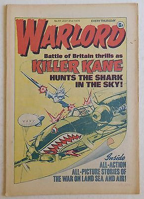 WARLORD Comic #97 - 31st July 1976