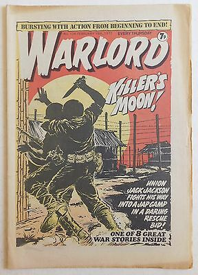 WARLORD Comic #126 - 19th February 1977