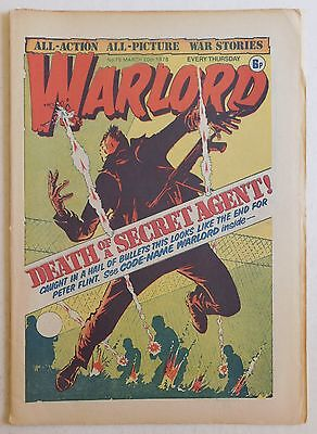 WARLORD Comic #78 - 20th March 1976
