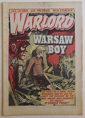 WARLORD Comic #165 - 19th November 1977