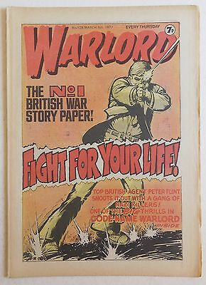 WARLORD Comic #128 - 5th March 1977
