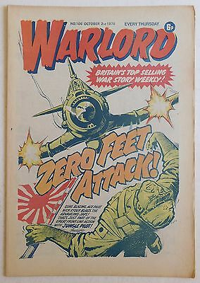 WARLORD Comic #106 - 2nd October 1976