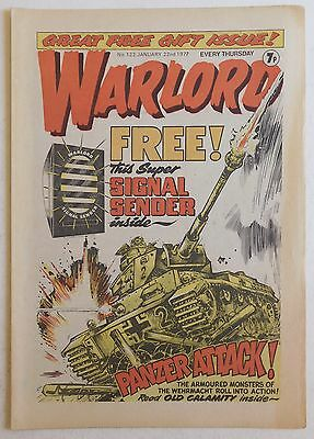 WARLORD Comic #122 - 22nd January 1977