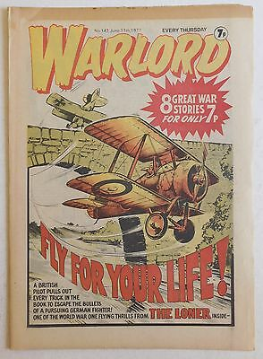WARLORD Comic #142 - 11th June 1977