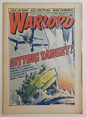 WARLORD Comic #99 - 14th August 1976