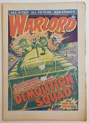 WARLORD Comic #104 - 18th September 1976