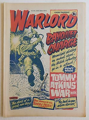 WARLORD Comic #92 - 26th June 1976