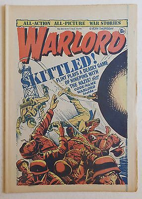 WARLORD Comic #86 - 15th May 1976