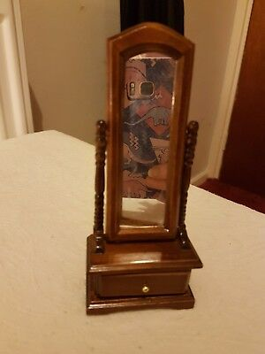 dolls house mirror free standing /movable