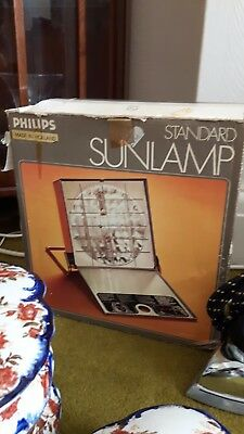 Vintage Boxed Philips HP3112 Standard Sunlamp IR & UV+IR ONLY Infra Red Working