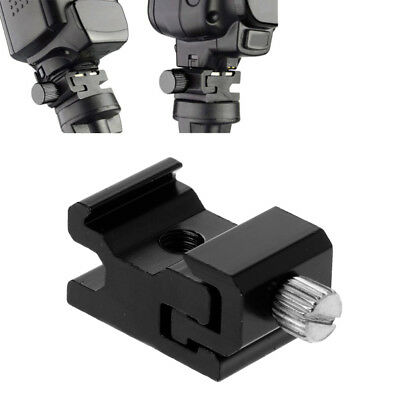 """Hot Shoe Flash Light Stand Adapter with 1/4""""-20 Camera Tripod Screw Accessories"""