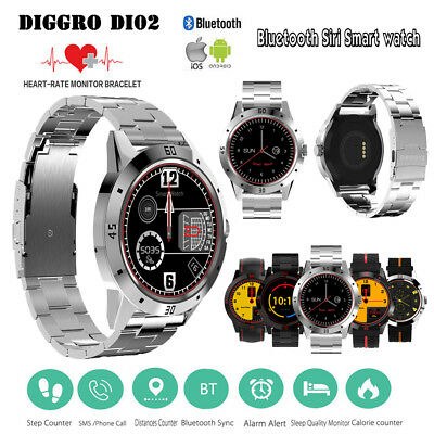DI02 Reloj Inteligente Bluetooth Smart Watch SmartWatch Business Android/IOS C