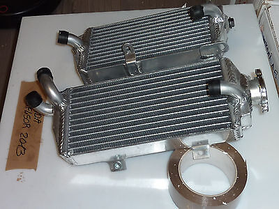 Pair of Radiators Honda CRFR CRF450R CRF 450 R 13 14 2013 2014