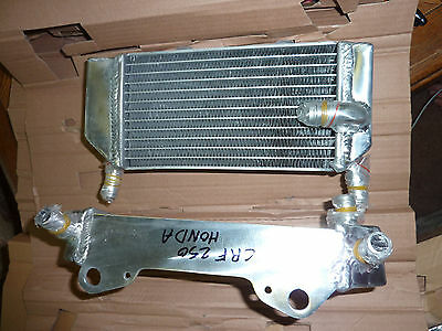 2 radiatori destra e sinistra HONDA CRF 250 04 05 06 07 08 09Right Left Radiator