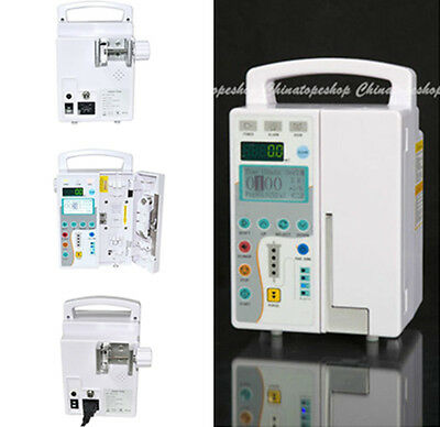IP-50HD LCD Infusion Pump with Voice alarm, Purge function, Automatically Record