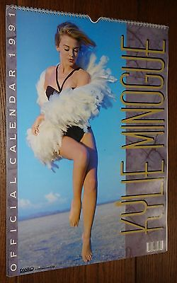 Kylie Minogue Official Danilo Calendar 1991 Complete Great Condition
