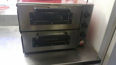 Double Pizza Oven, Used But Fully Working Single Phaze