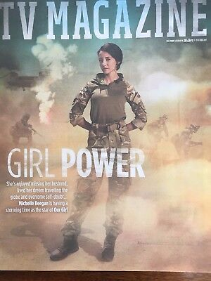 Sun TV Magazine 7 October 2017 Michelle Keegan Our Girl Ray Mears
